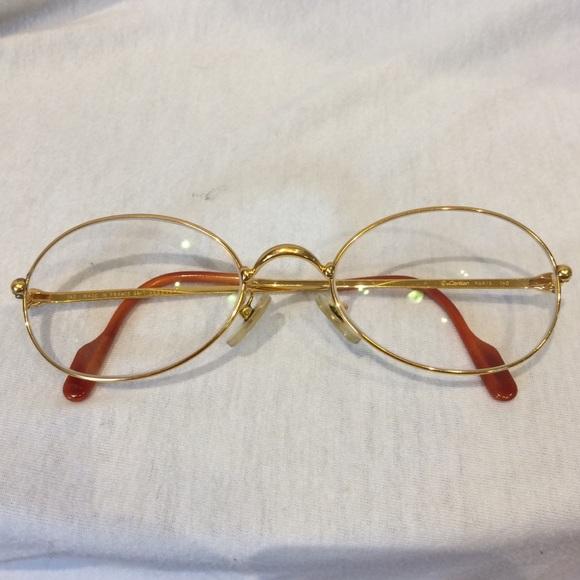 Cartier Accessories   Vintage Gold Eyeglass Frames   Poshmark